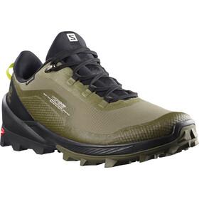 Salomon Cross Over GTX Shoes Men deep lichen green/black/evening pri